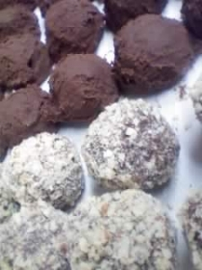 Truffles in the raw and the coated